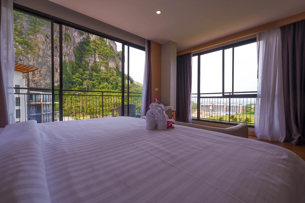 Room with view at Sea Seeker Krabi Resort (one of the best hotels in Ao Nang)