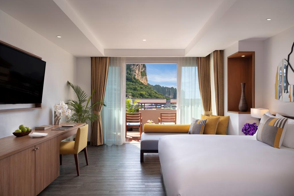 Double room at Avani Ao Nang Cliff Krabi Resort (one of the best hotels in Ao Nang)