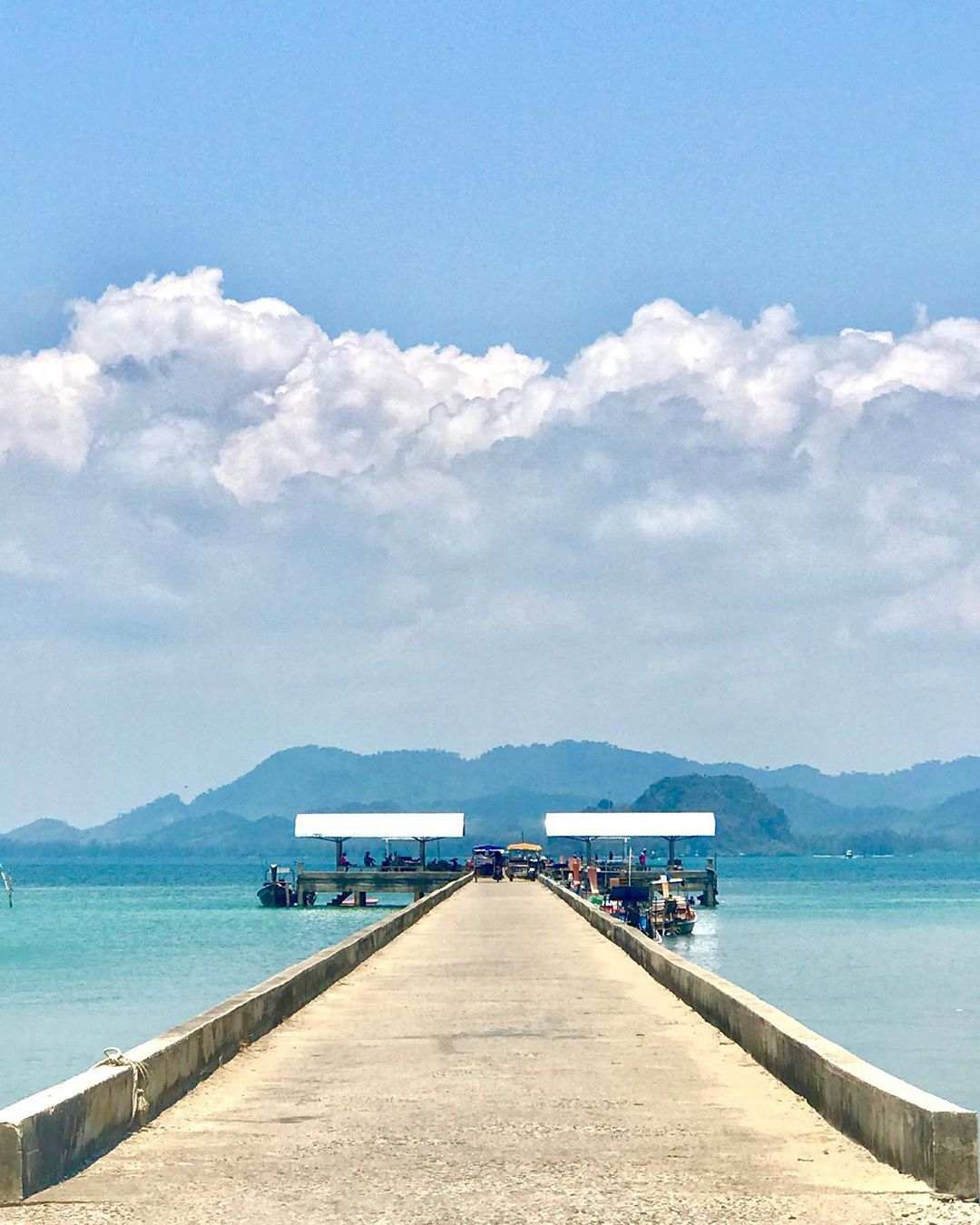The pier of Koh Mook