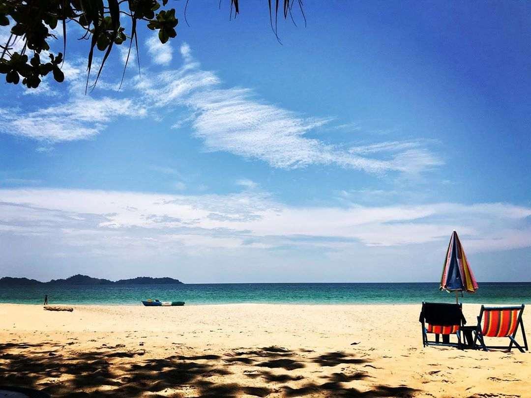 A beach on Koh Mook