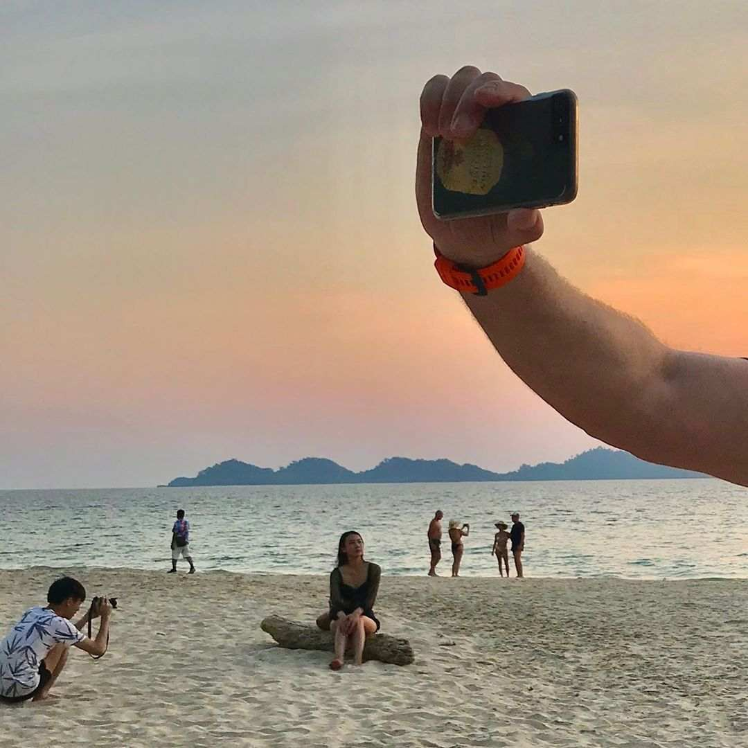 Take a picture on Koh Mook