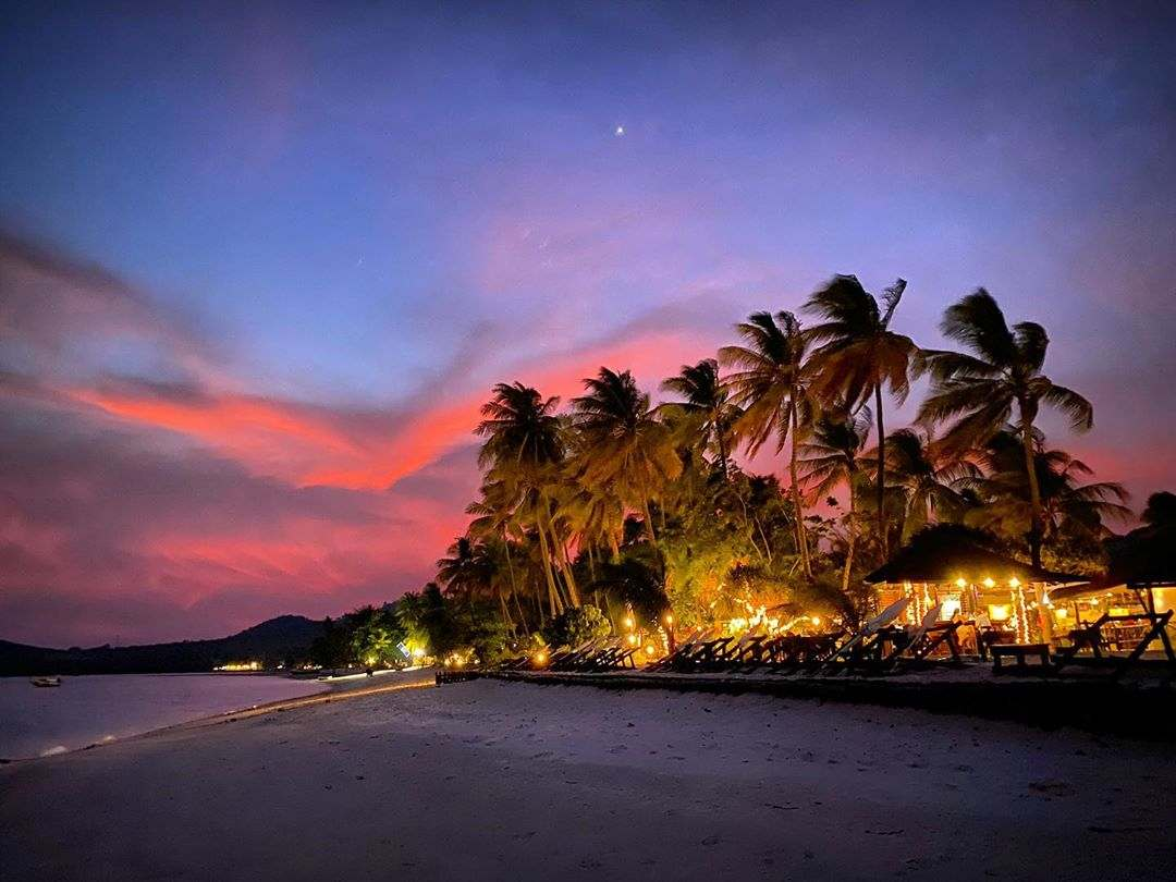 Zonsondergang op Koh Mook
