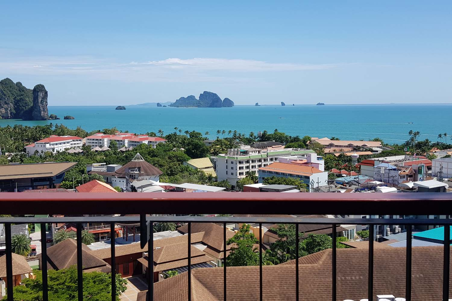 View from the Avani Superior Sea View Room in Ao Nang