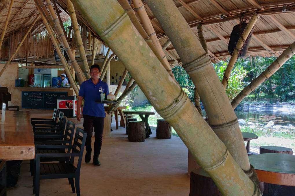 De Massaman beef in de Andaman Beach Club