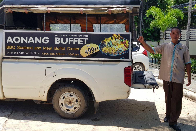 Super service van het Avani Ao Nang Cliff Krabi Resort