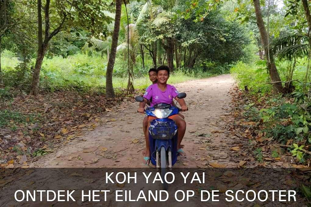 Link Naar Artikel Ontdek Koh Yao Yai Op De Scooter