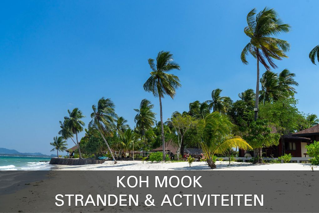 Click here for the beaches and fun activities of Koh Mook (Koh muk)