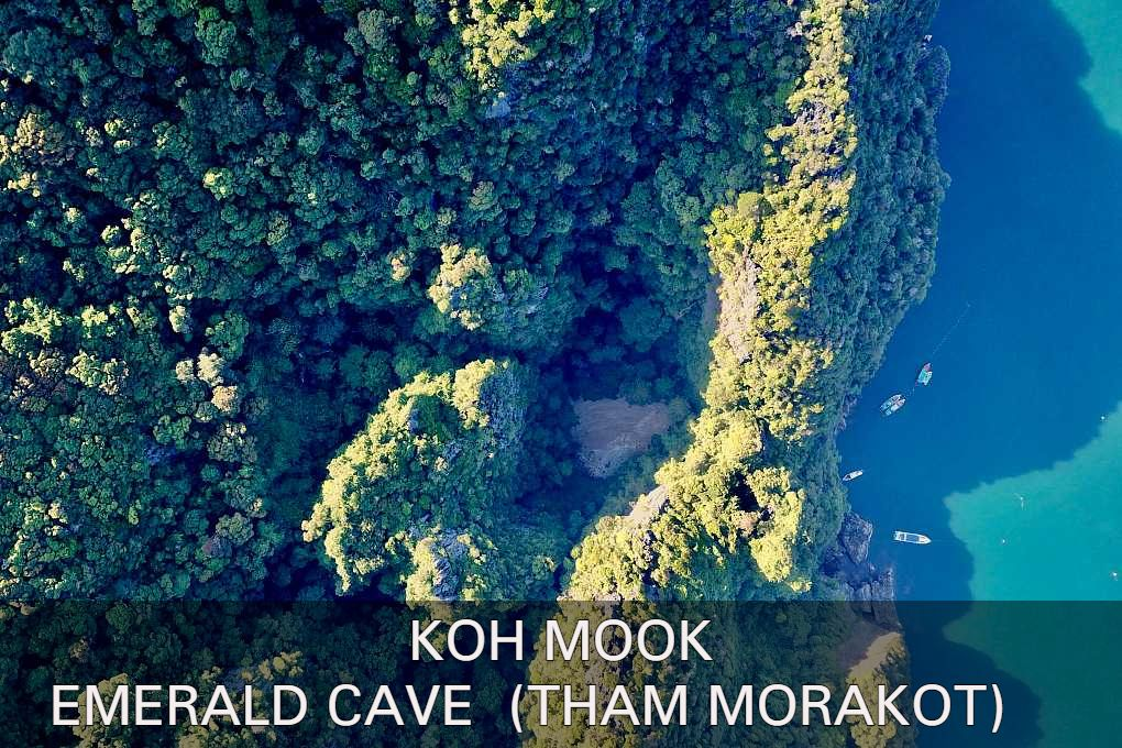 Click here for the article about the Emerald Cave (Tham Morakot) on Koh Mook