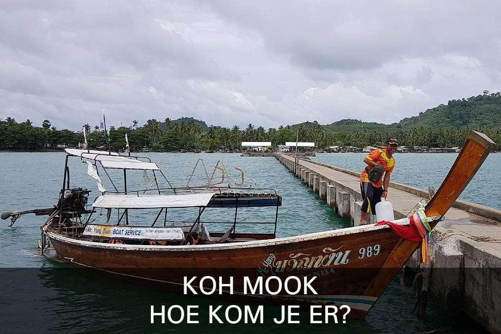 foto met link naar artikel Koh Mook, hoe kom je er?