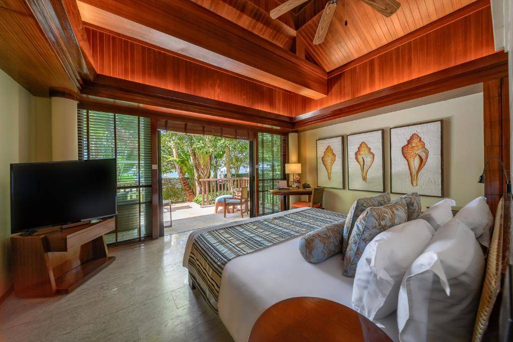 One bedroom at the Centara Grand Beach Resort & Villas (one of the best hotels in Ao Nang)