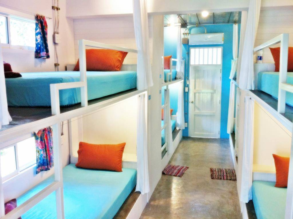 Dormitory of the Glur Hostel (one of the best hotels in Ao Nang)