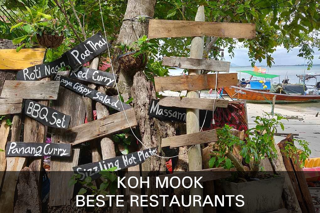 Click here for the best restaurants of Koh Mook