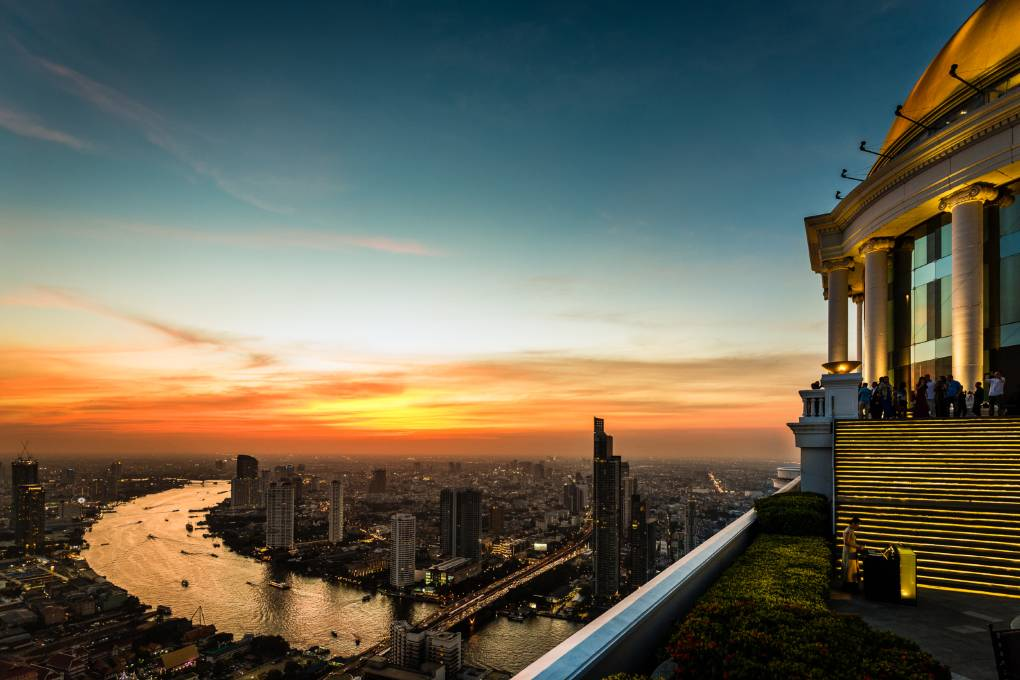 Lebua Sky Bar bekend van de Hang Over