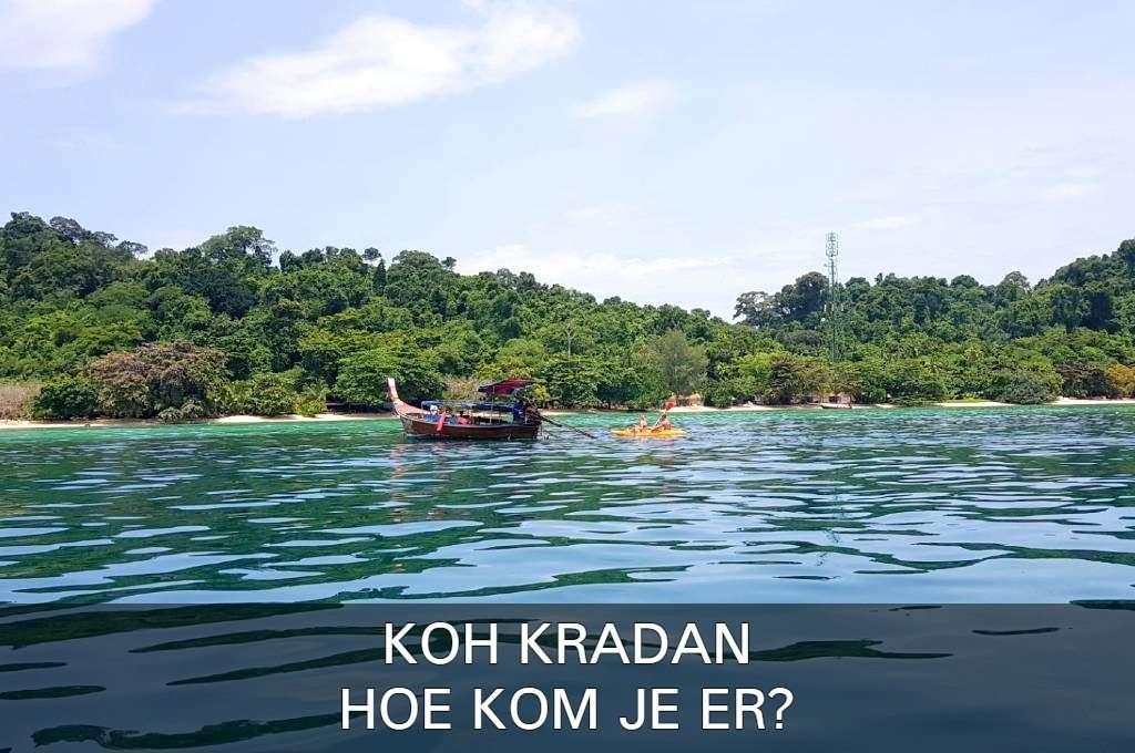 Klik hier als je wilt lezen hoe je op Koh Kradan komt