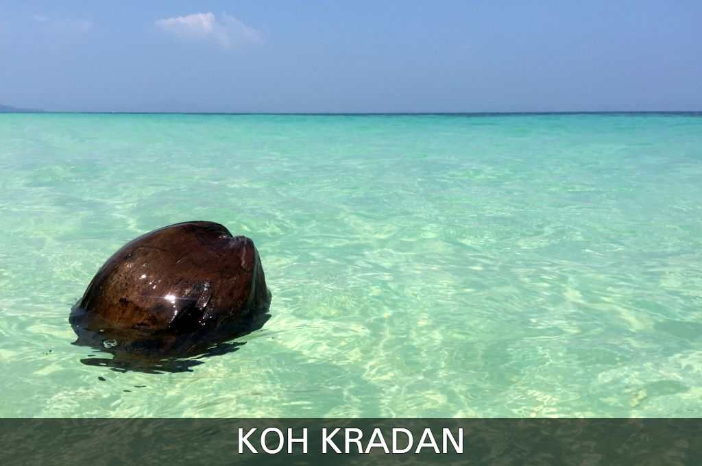 Click to see all our articles about the beautiful island Koh Kradan