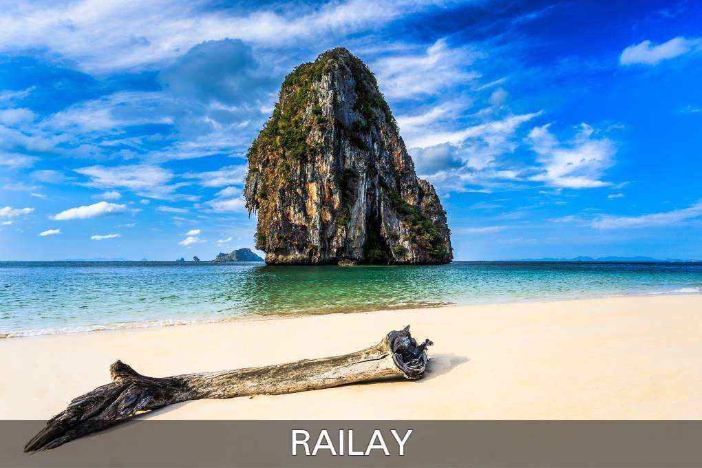 Read here all information about Railay, one of the most beautiful destinations in Thailand.
