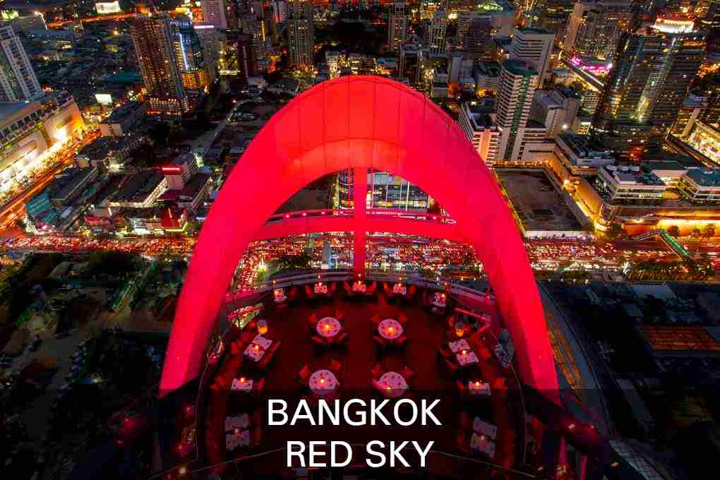 Lees Hier Alles Over De Sky Bar Red Sky In Bangkok, Thailand