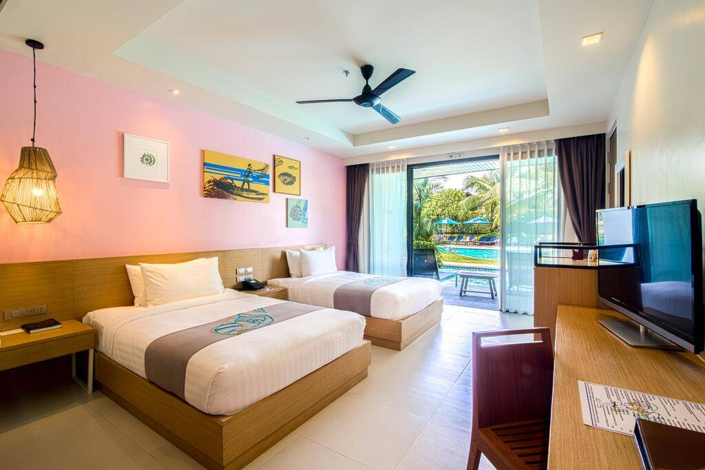 One room at the Holiday Inn Resort Krabi Ao Nang Beach (one of the best hotels in Ao Nang)
