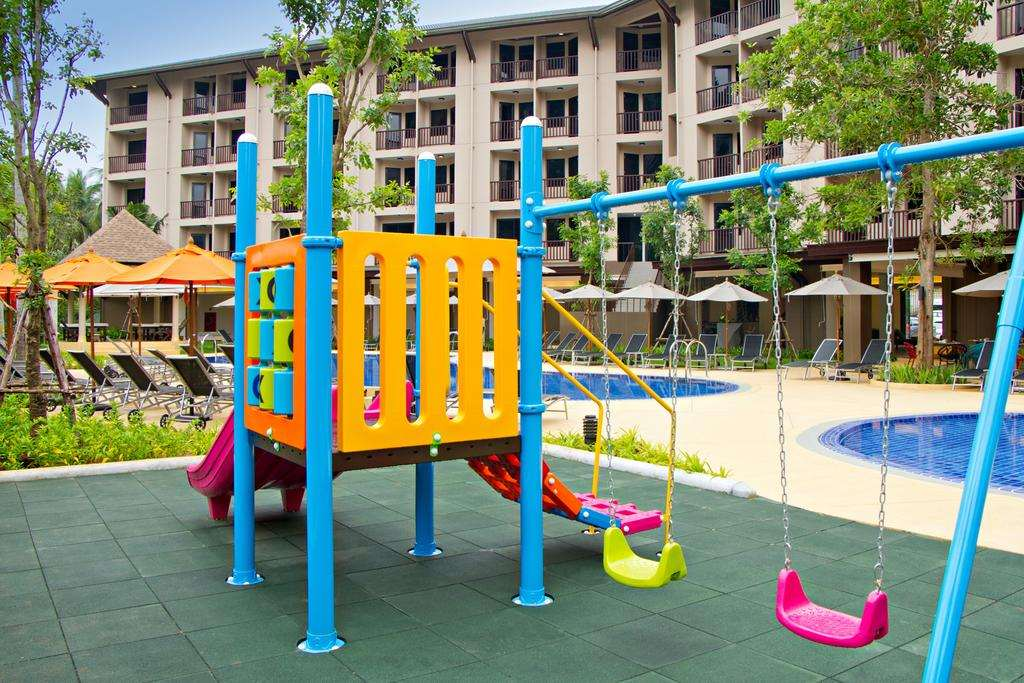 Children's playground at the Ibis Styes Krabi Ao Nang (one of the best hotels in Ao Nang)