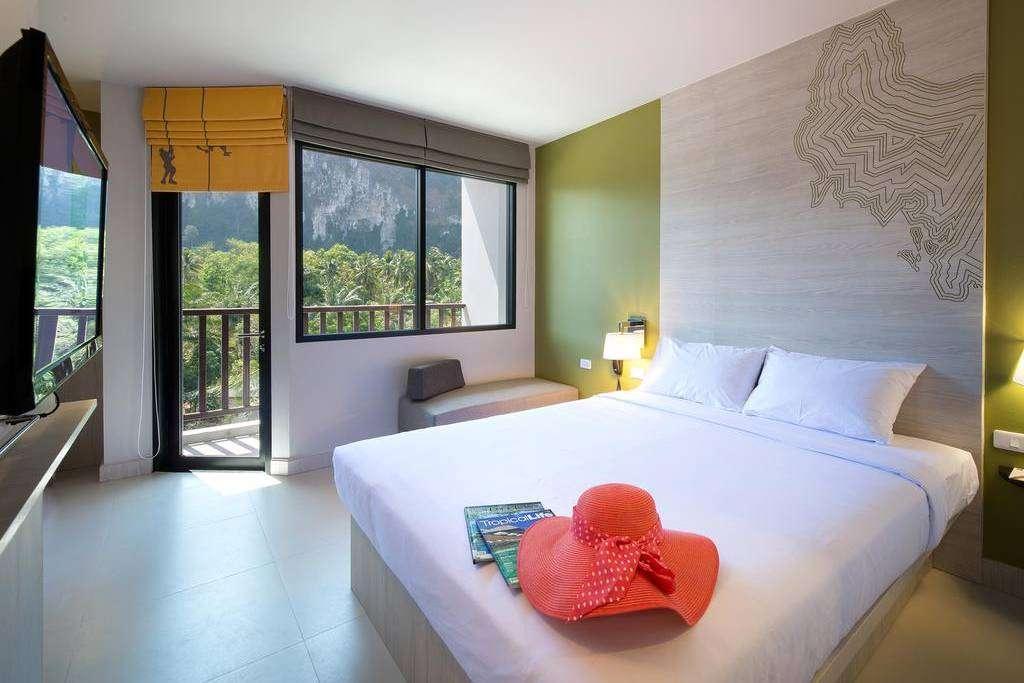 Bedroom in Ibis Styes Krabi Ao Nang (one of the best hotels in Ao Nang)