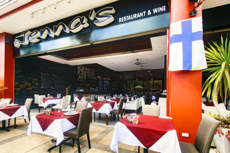 Voorkant van Jenna's Bistro & Wine (een van de beste restaurants van Ao Nang)