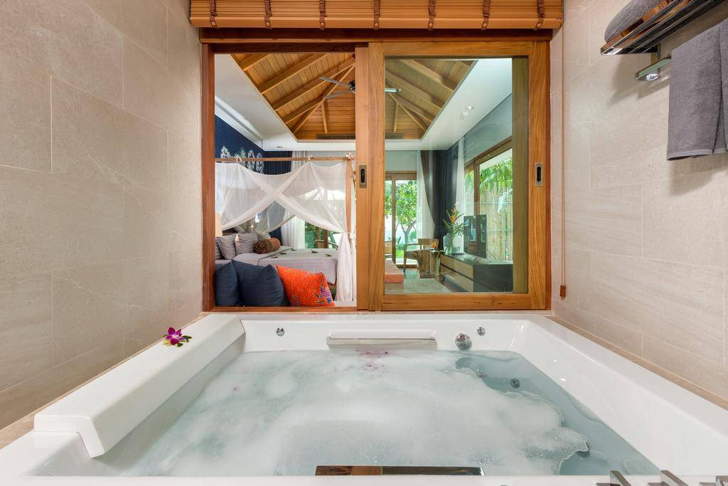 Room with Jacuzzi at the Krabi Resort (one of the best hotels in Ao Nang)