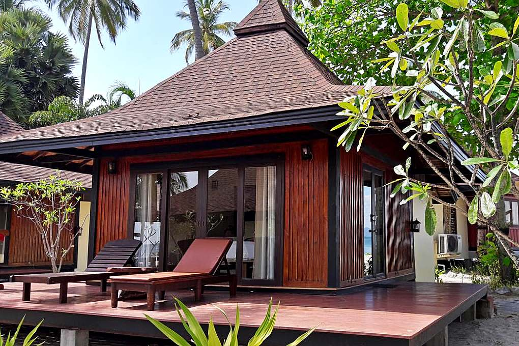 Bungalow on the beach of Koh Mook Sivalai Beach Resort