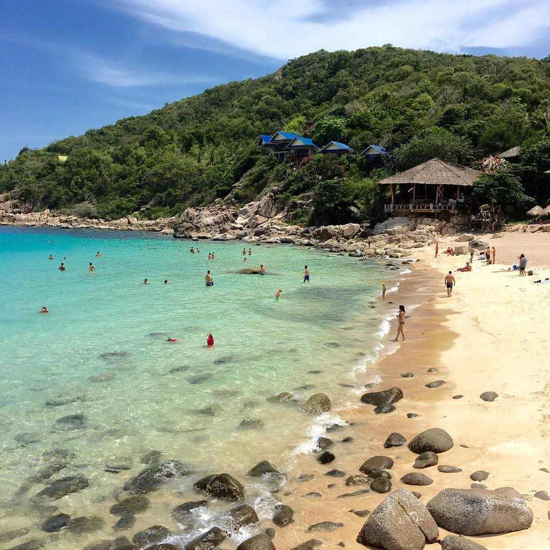 Coast of Koh Tao