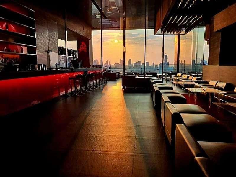 Sunset at Long Table in Bangkok