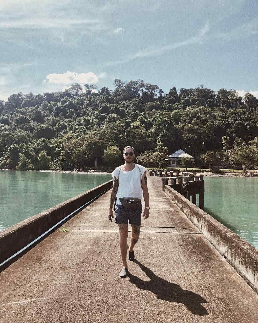 Ao Ta Lo Woo pier op koh tarutao in het Tarutao National Park
