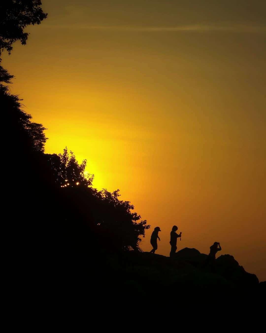 silhouetten op Koh Lipe