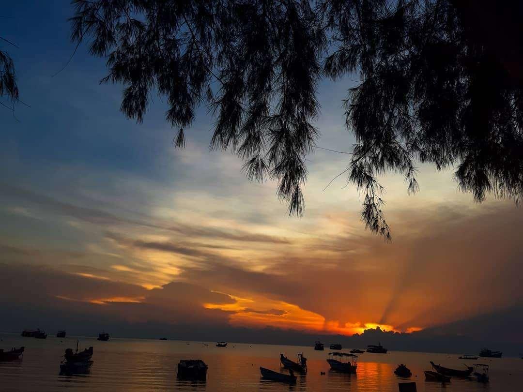 Zonsondergang op Koh Tao