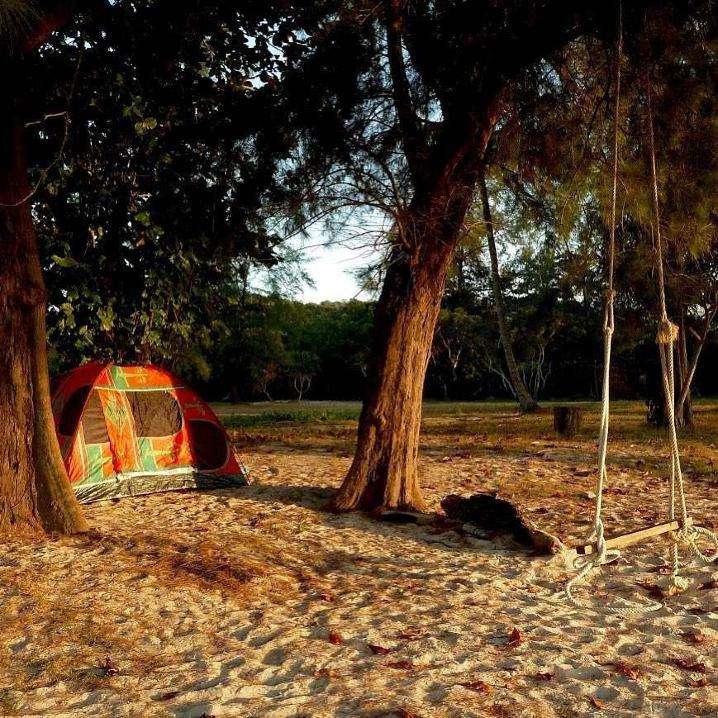 Slapen op Koh Tarutao in het Tarutao National Park