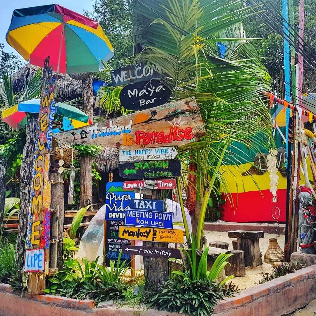 De Maya Bar op Koh Lipe