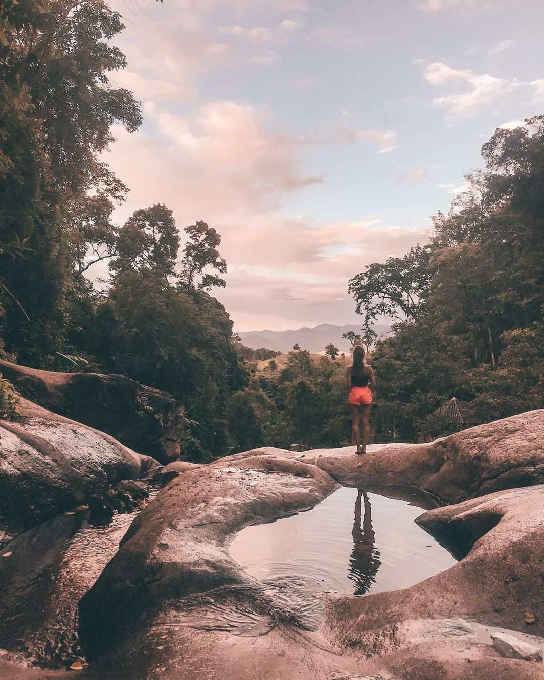 Sticky waterfall Pai