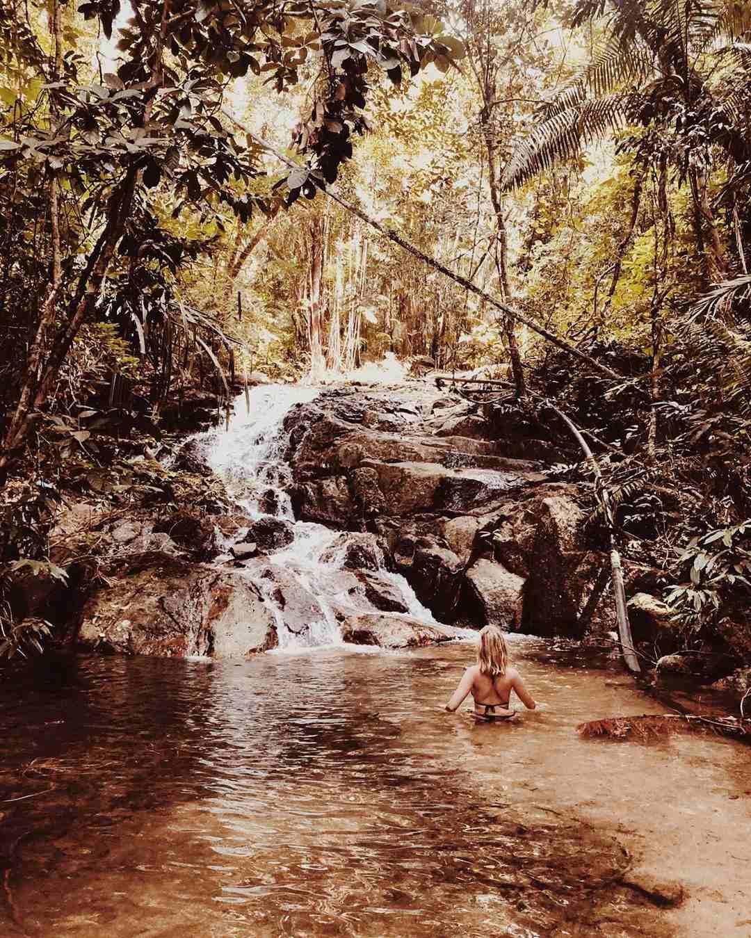 Waterval in het Tarutao National Park