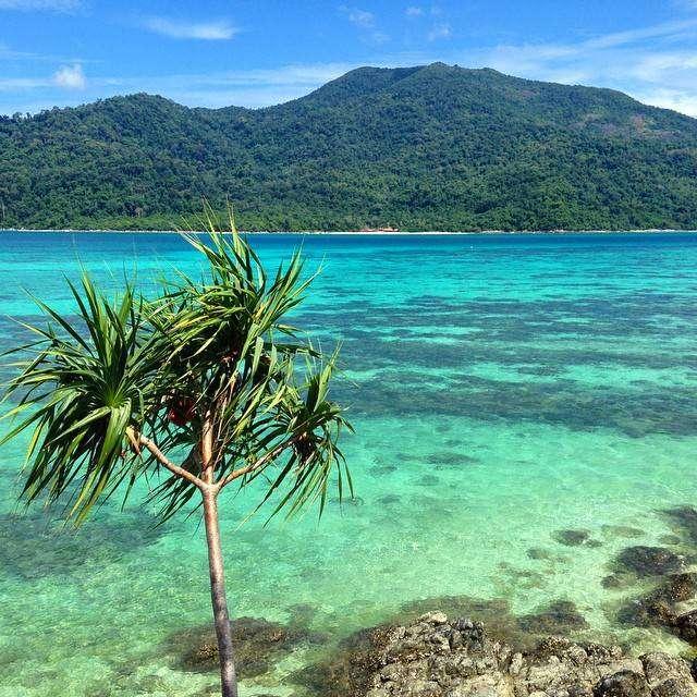 mooie zee Ain het Tarutao National Park