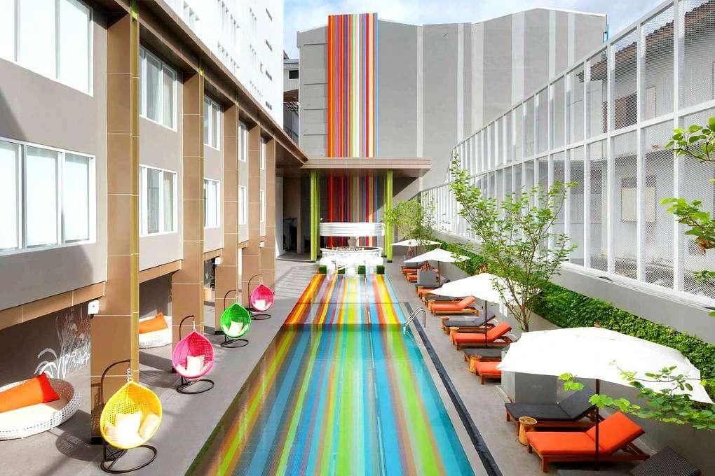 Kindvriendelijk hotel met zwembad in Bangkok