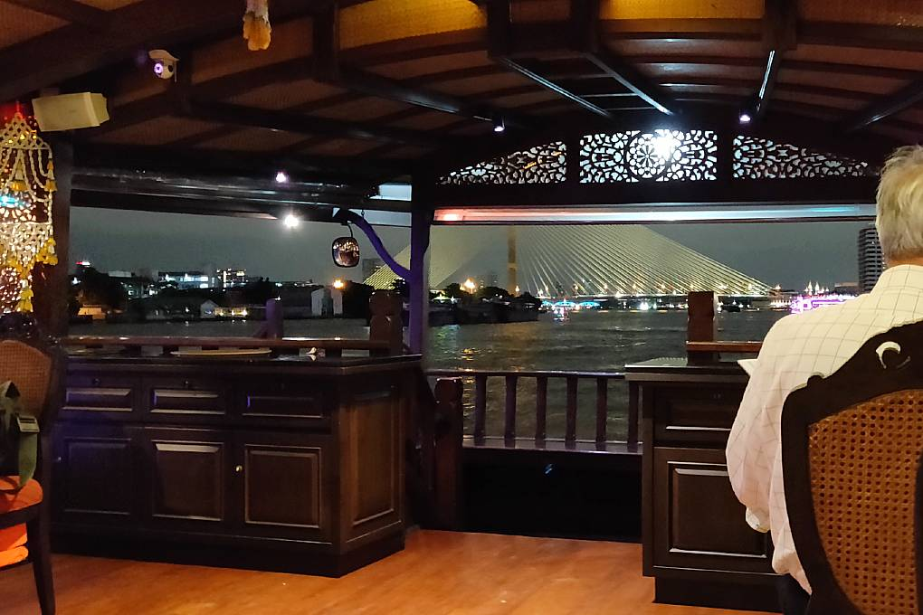 The King Rama VIII bridge during the Baan Khanitha Cruise