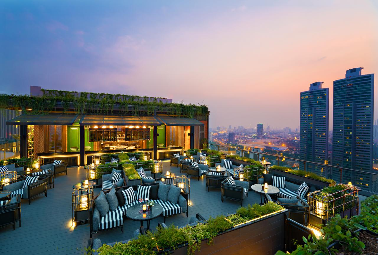 Bangkok Marriott Marquis Queen's Park - Hotel with Sky bar on the roof