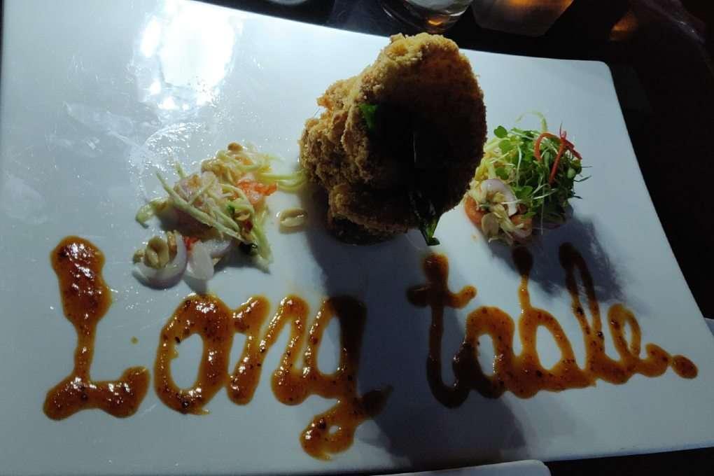 Sea bass at Long Table