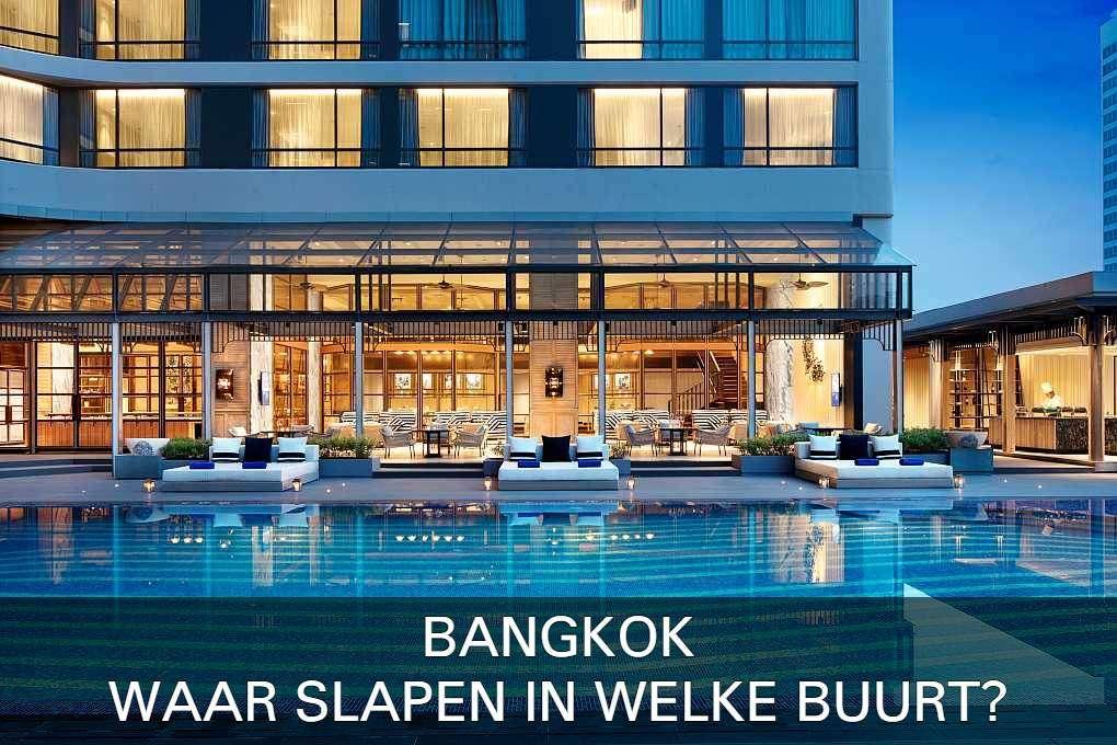 Marriott Marquise in Bangkok met link naar artikel waar slapen in Bangkok