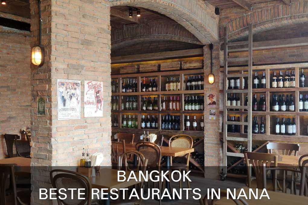 de beste restaurants van het Nana gebied in Bangkok vind je hier