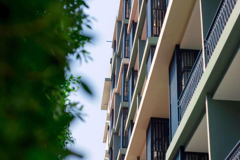 Hope Land Hotel Sukhumvit 8 vanaf buiten gezien