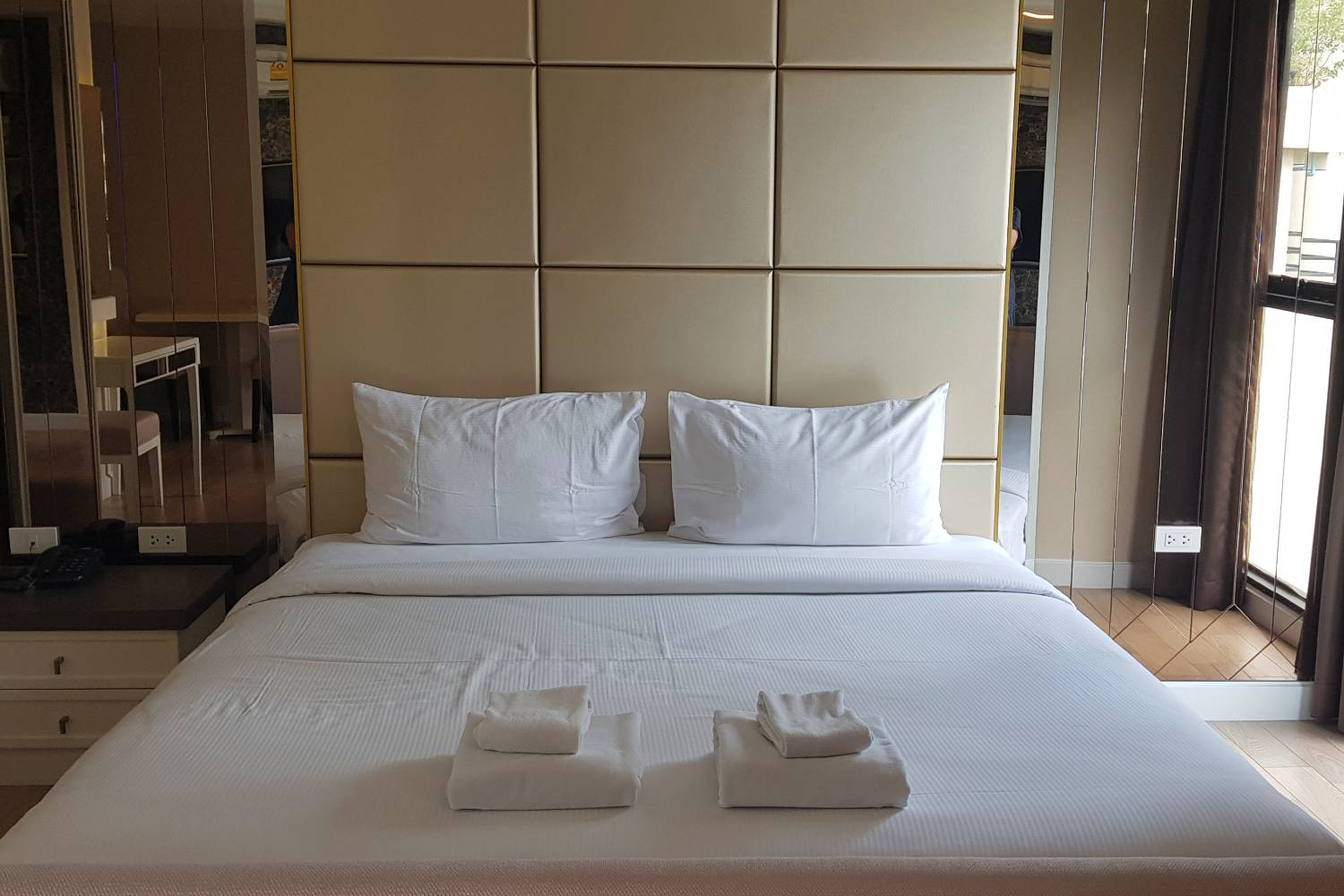 Tweepersoonskamer (Superior Room) van Hope Land Hotel Sukhumvit 8 in Bangkok, Thailand