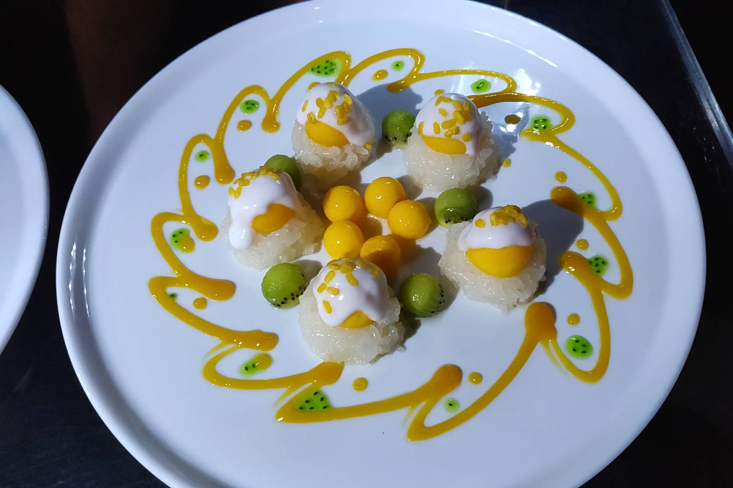 Mango Sticky Rice at Long Table