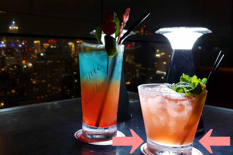 De Immortal en Love Potion cocktails bij Long Table in Bangkok