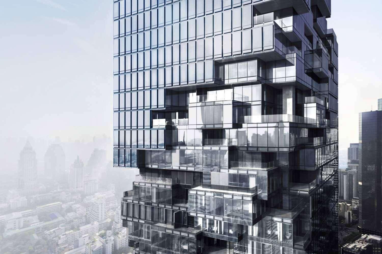 King Power Mahanakon wordt ook wel de Pixel Tower genoemd