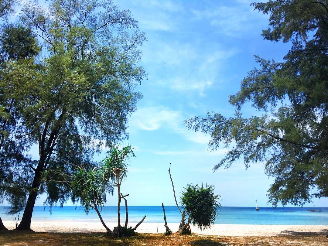 het strand van Koh Tarutao in het Tarutao National Park