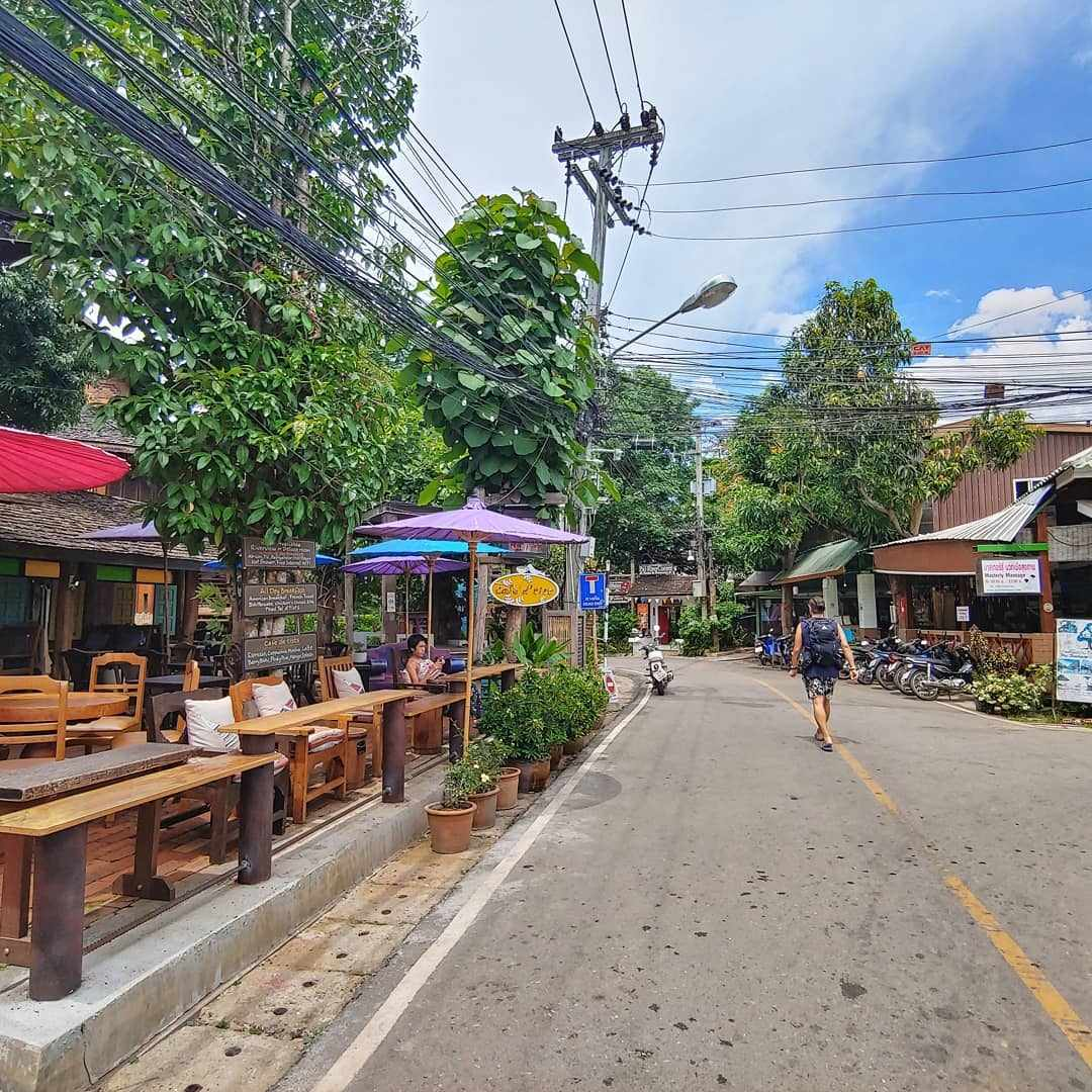 Pai Walking Street by day